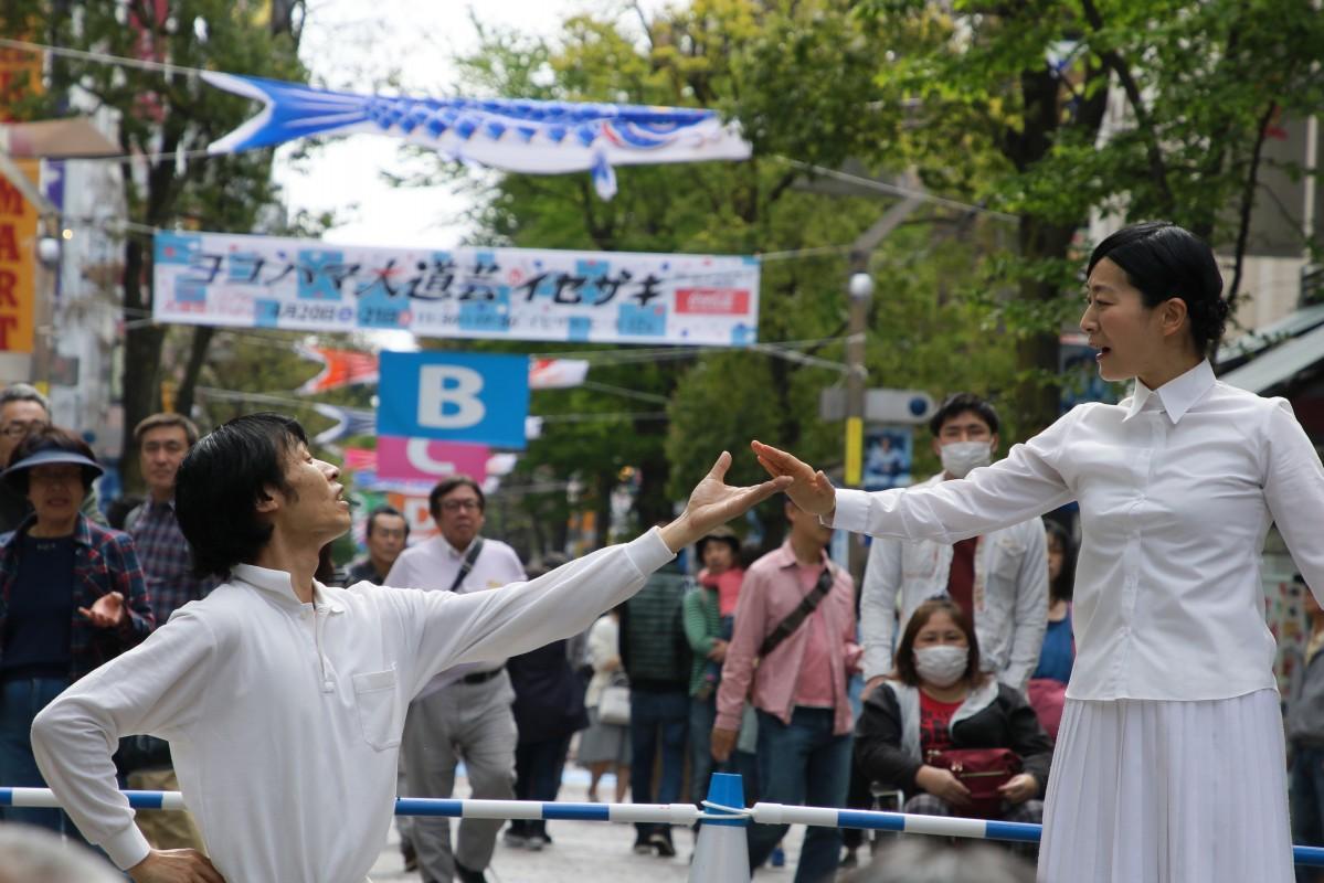横浜では例年4月に、野毛大道芸とヨコハマ大道芸が開催されていた(©ウメノクニヒコ)