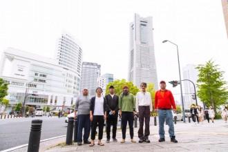 路上生活経験者のダンスカンパニー「新人Hソケリッサ!」が帆船日本丸前で野外公演