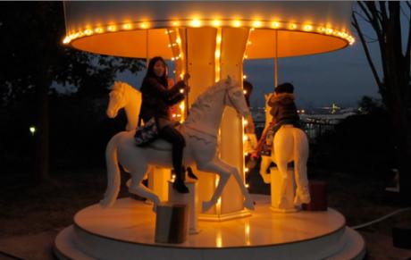 ヨコハマ経済新聞本牧アートプロジェクトに「移動式メリーゴーラウンド」