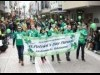 横浜元町でアイルランドの祭り「セントパトリックデー・パレード」 ストリートが緑に染まる