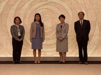 ノーベル平和賞「WFP」日本事務所代表ら、受賞報告で横浜市長訪問