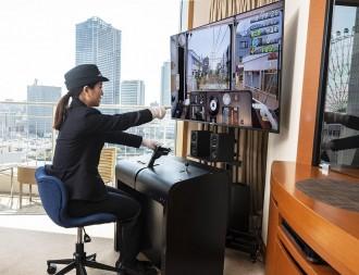横浜ベイホテル東急がトレインシミュレーター体験付き宿泊プラン