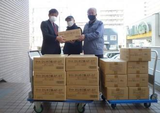 NTT東日本、ひじきご飯2万食を神奈川県のフードバンクに寄付