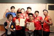 浜松のステーキ店で「ステーキ甲子園」 7秒差の接戦で優勝を決める
