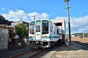 浜松の天竜浜名湖鉄道で体験ツアー 洗車機や有形文化財の転車台を乗車して体験