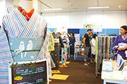 浜松で遠州織物イベント 職人の実演とワークショップで魅力発信