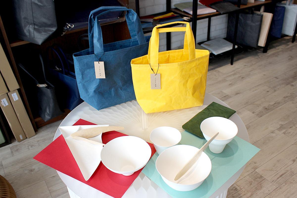 和紙製品「SIWA」とデザイン性の高い紙皿「WASARA」