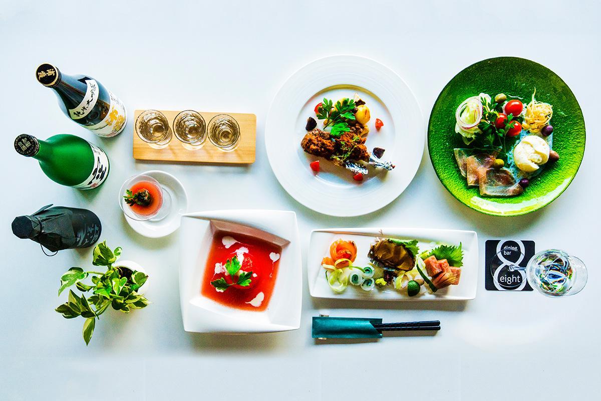 和食料理で30年以上の経験を持つ父親が調理したこだわりの料理