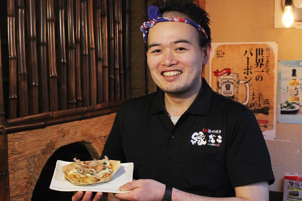 料理長の田中康一郎さん