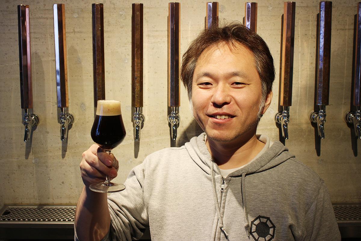醸造技師の千葉恭広さん