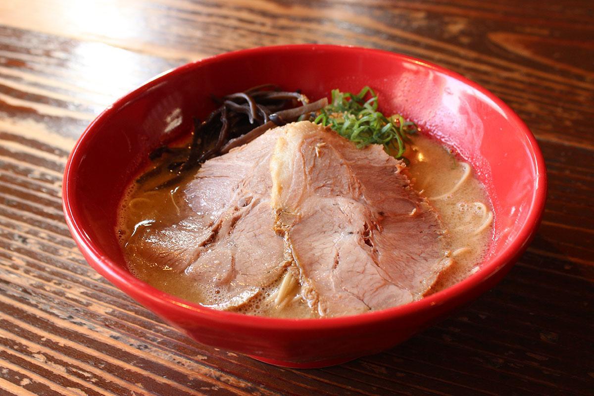 あっさりした豚骨ラーメン「虎丸拉麺」