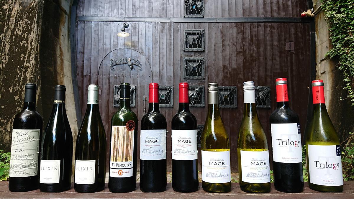 デイリーワインや熟成ワインなど10本を厳選