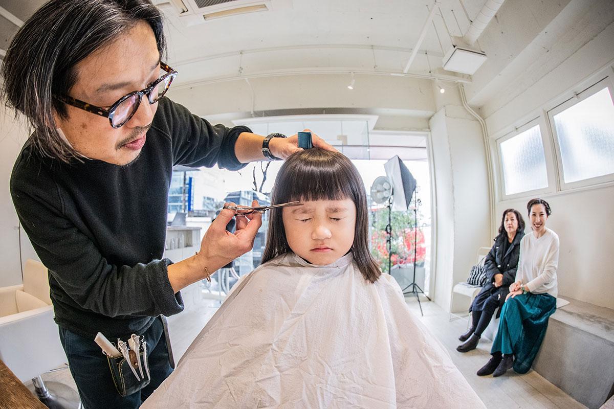 美容師しか見ることのできなかった表情を形に