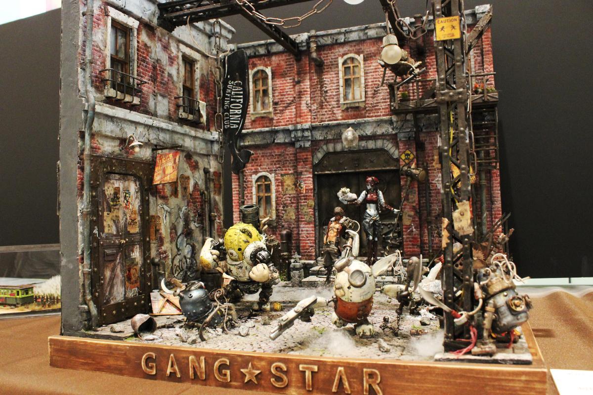 ギャング団の街を作ったファンタジックな作品