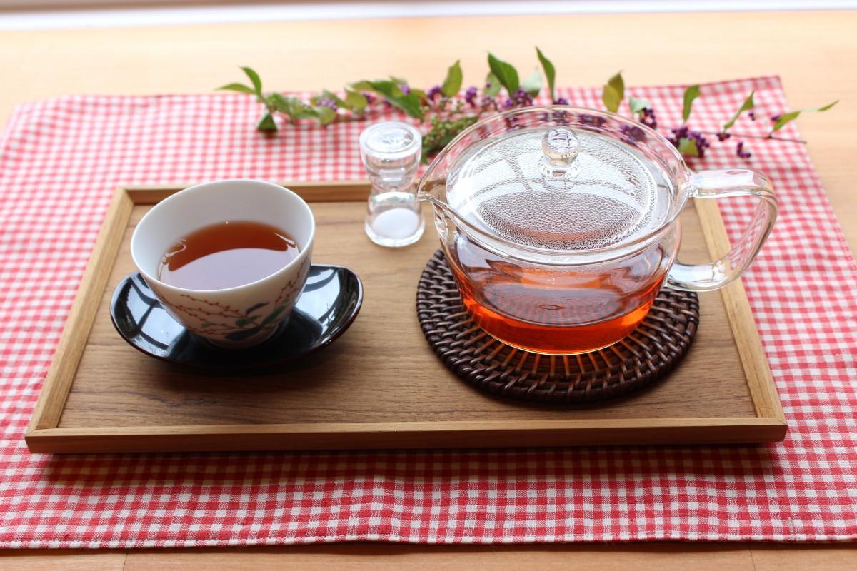 ワークショップで味わえる和紅茶