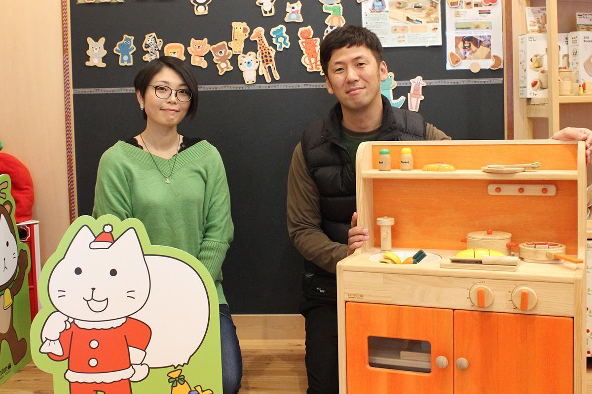 代表の日内地真吾さんとデザイナーのヤマダさん