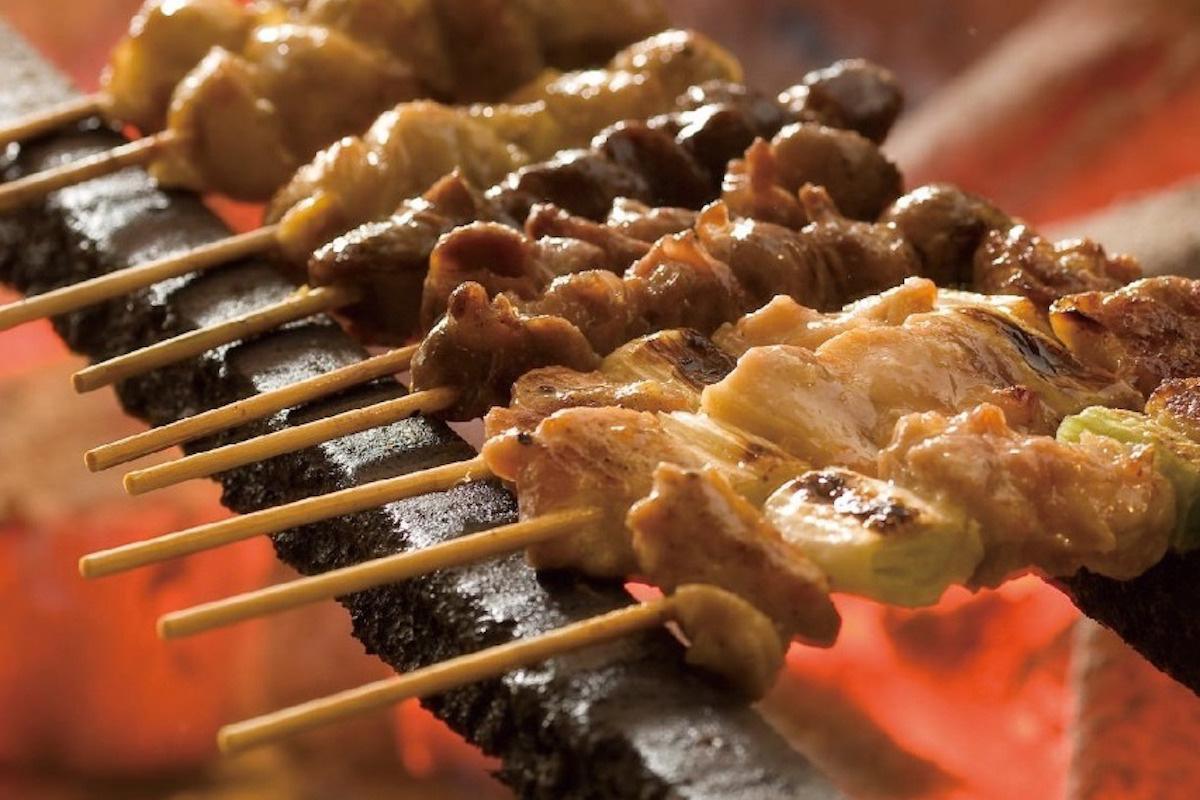 銘柄鶏「さつま純然鶏」を使った焼き鳥