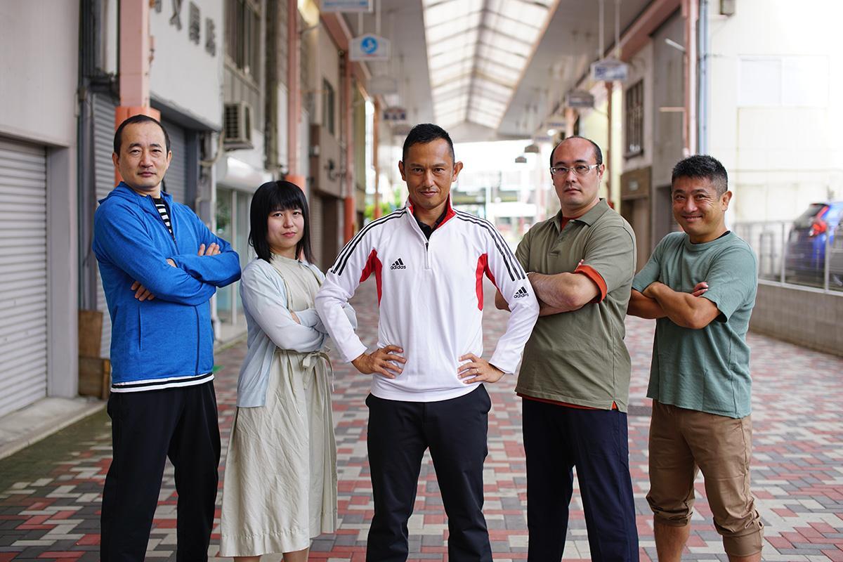浜松戦隊ヤラマイカーの5人のヒーローたち
