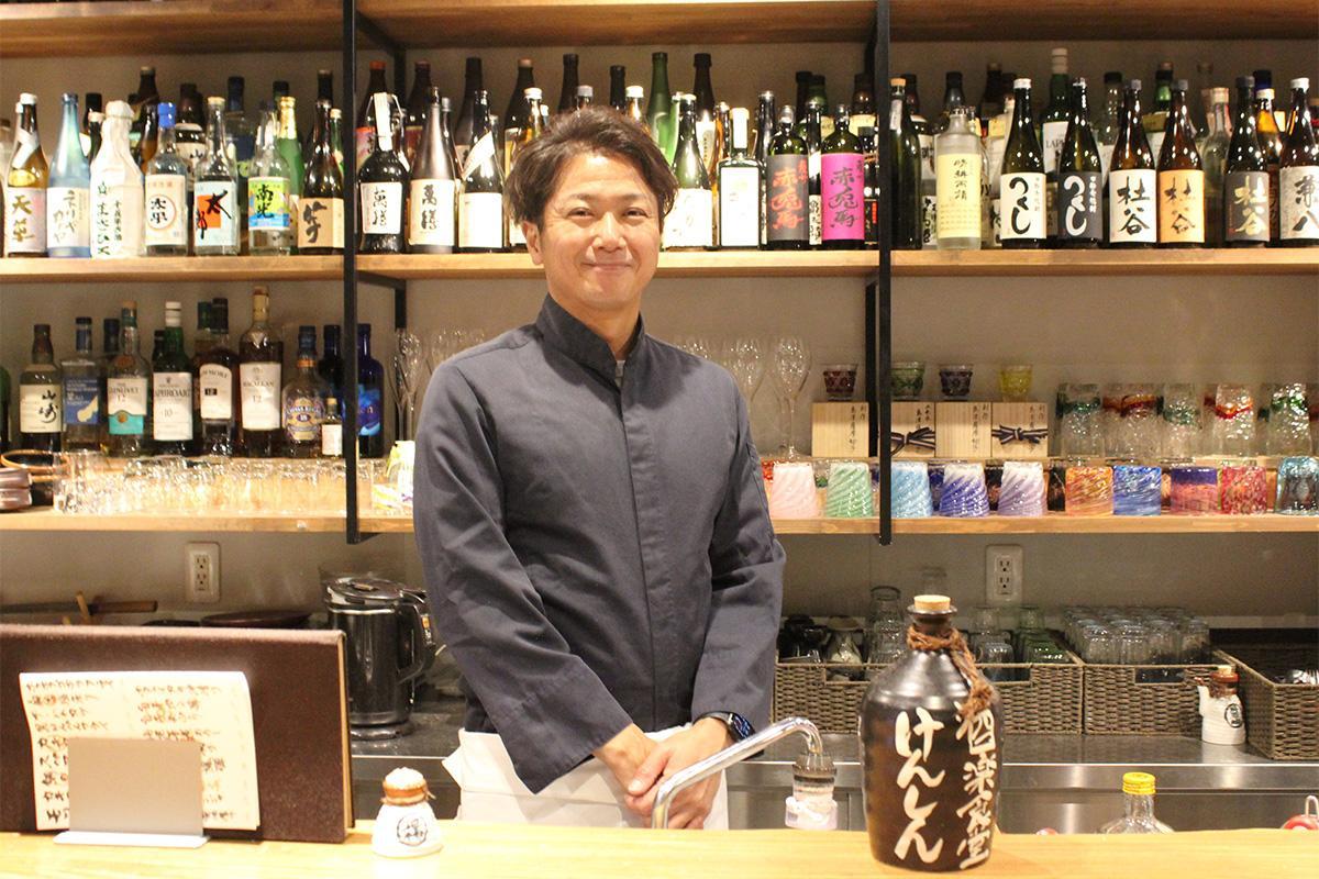 多くの人の来店を期待する、店主の太田賢さん