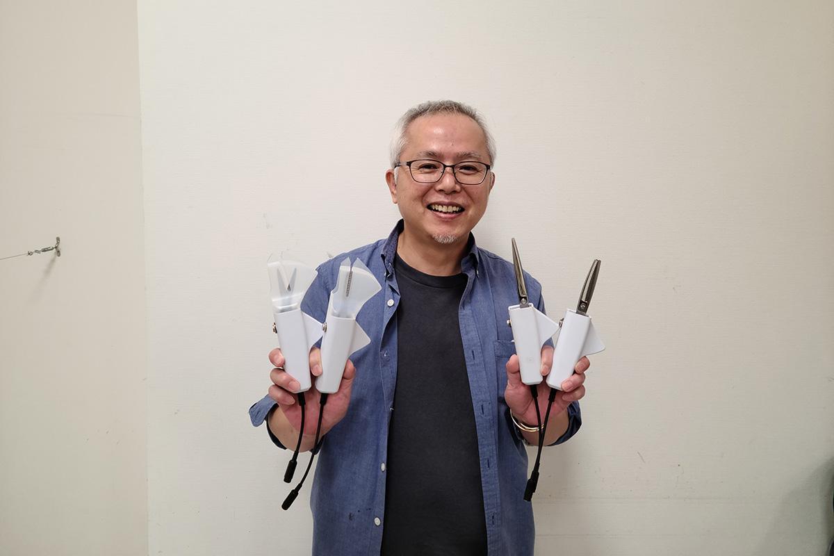明るい未来のため、多くの人に電動ハサミを活用してほしい谷川浩治さん