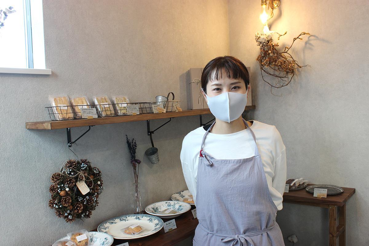 多くの人の来店を期待する、店主の世田亜紀さん