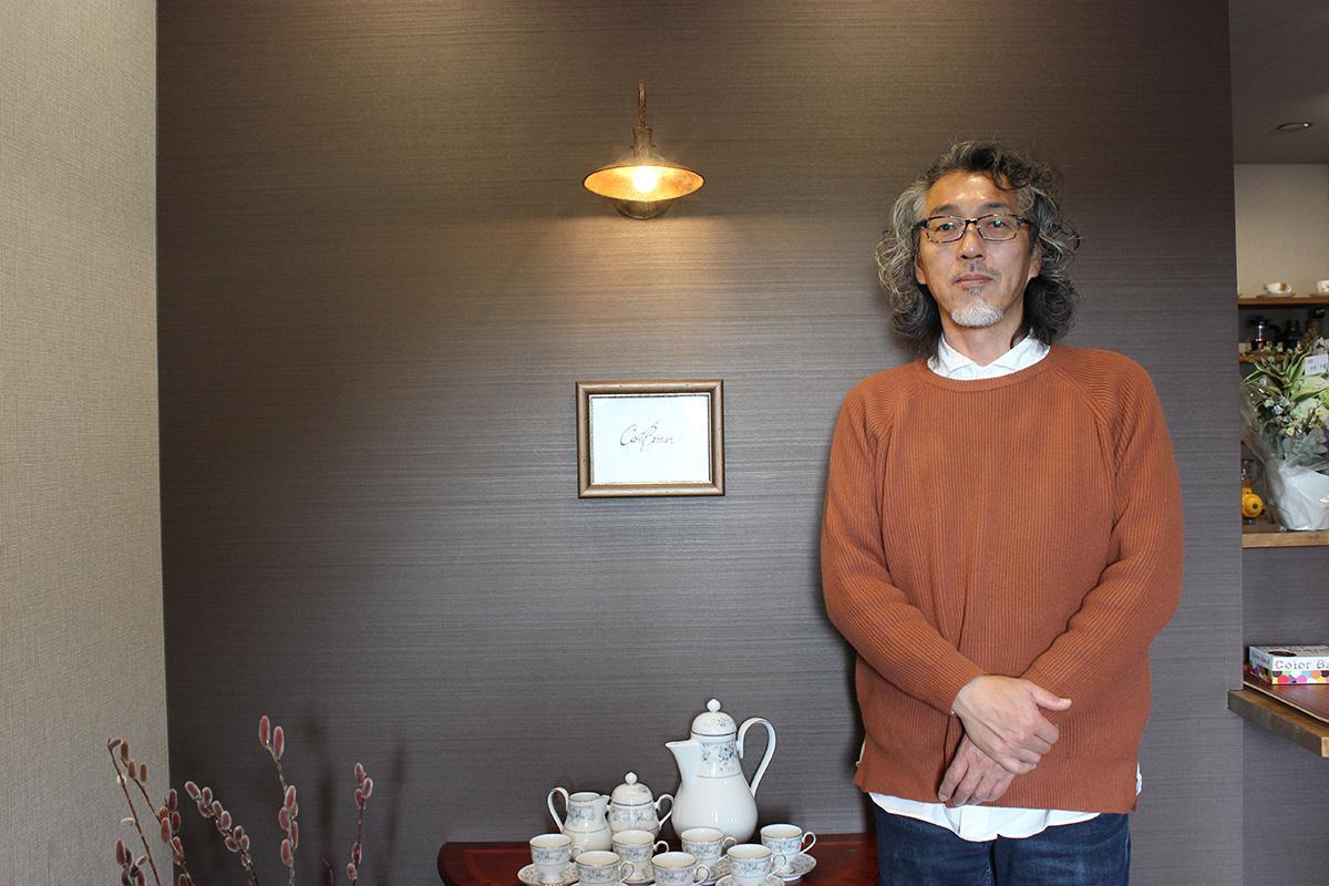 多くの人の来店を期待する、オーナーの髙山雅裕さん