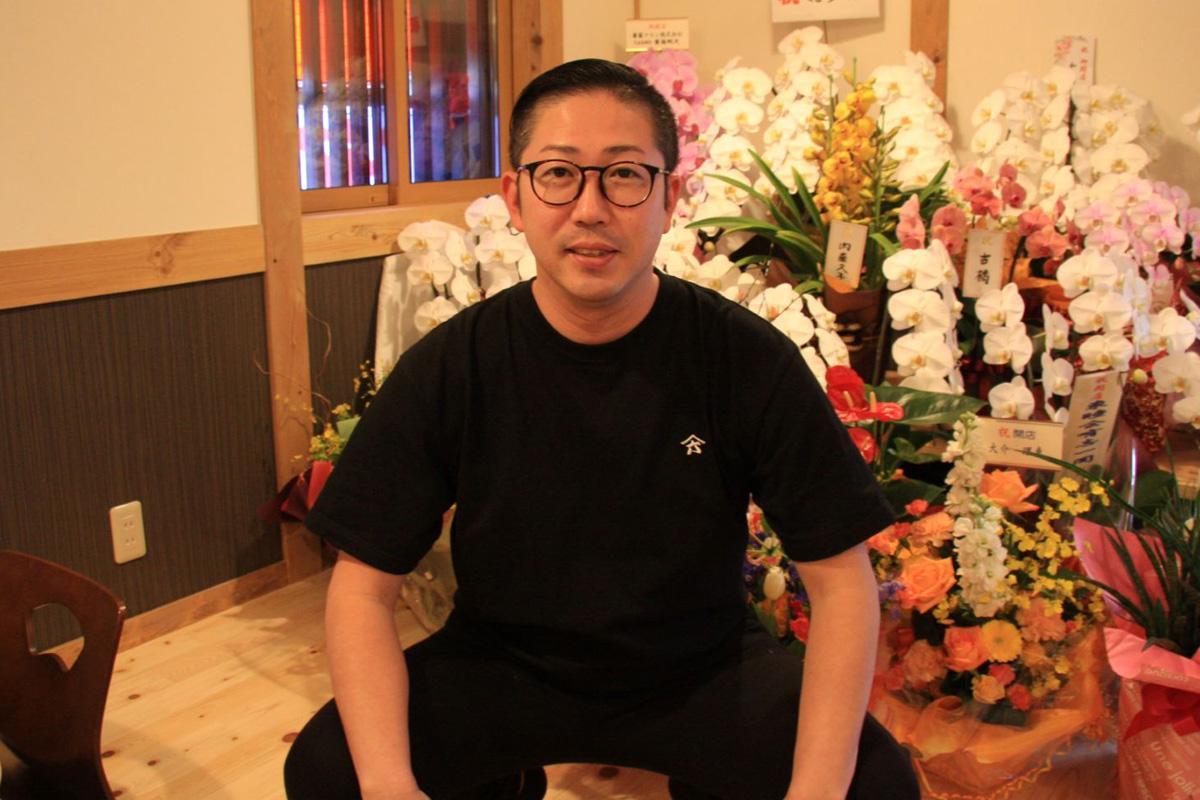 多くの方の来店を期待する、店主の鈴木雄理さん
