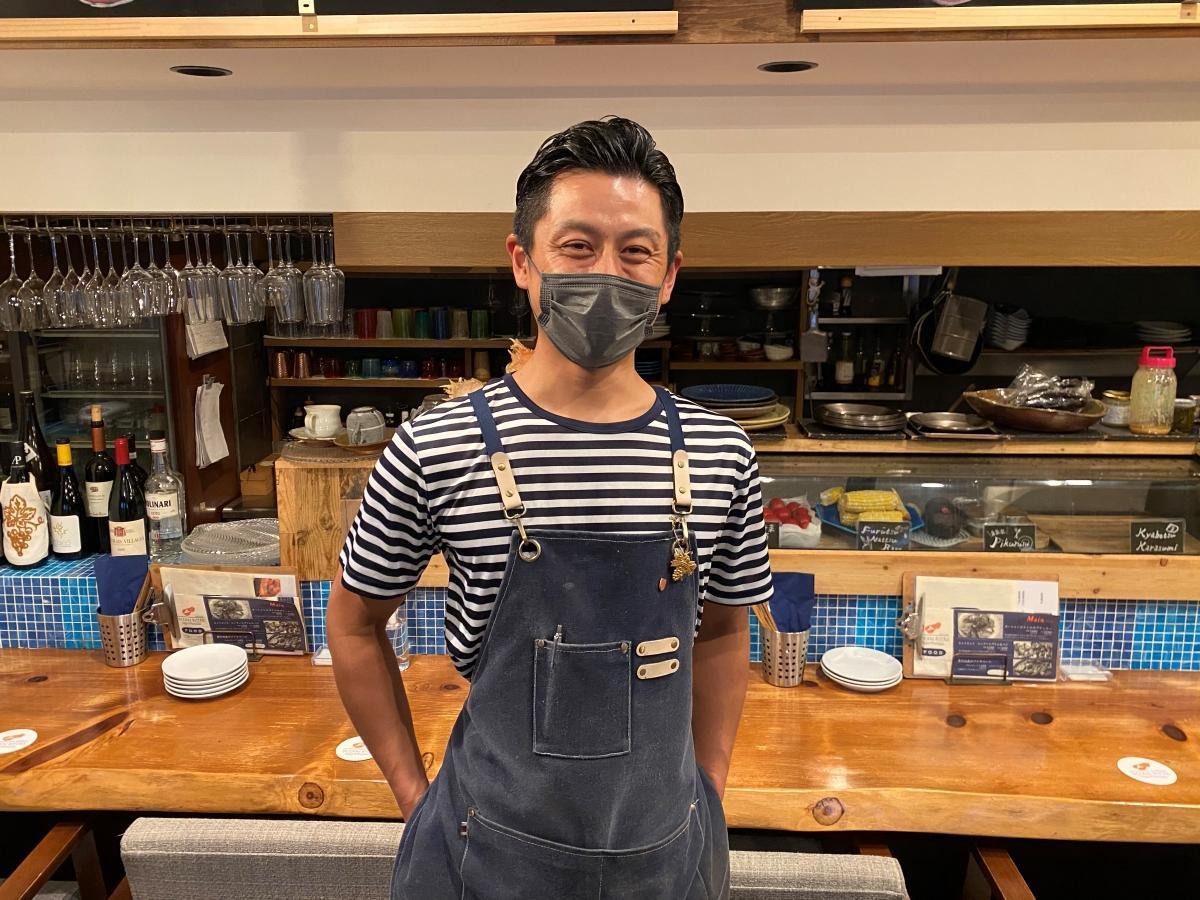 「応援してくれる方に感謝したい」と話す、料理長の後藤さん