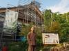 浜松・龍雲寺で「一日大工さん体験」 宮大工が子どもたちに直接指導