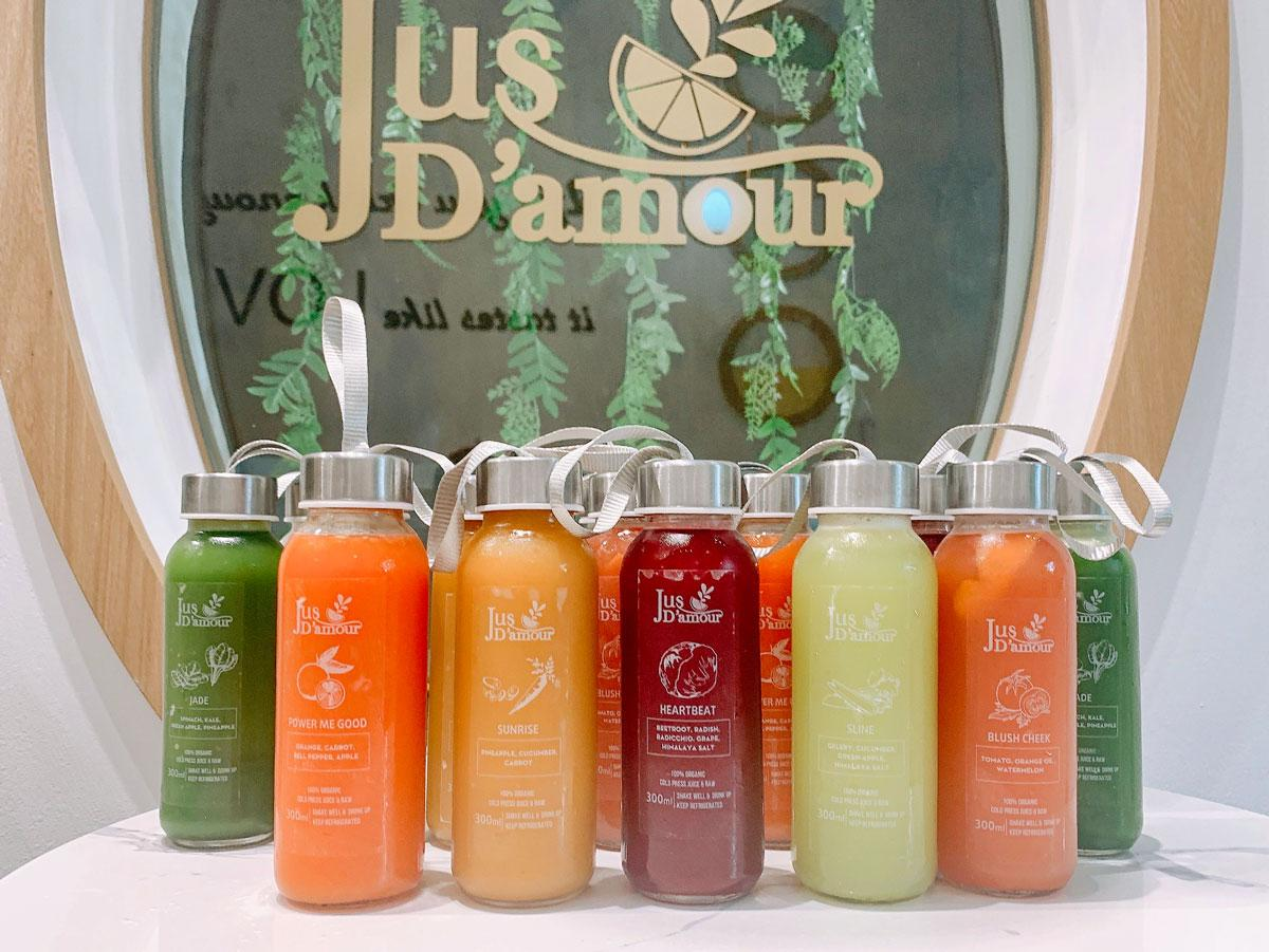 「Jus D'amour」のジュース