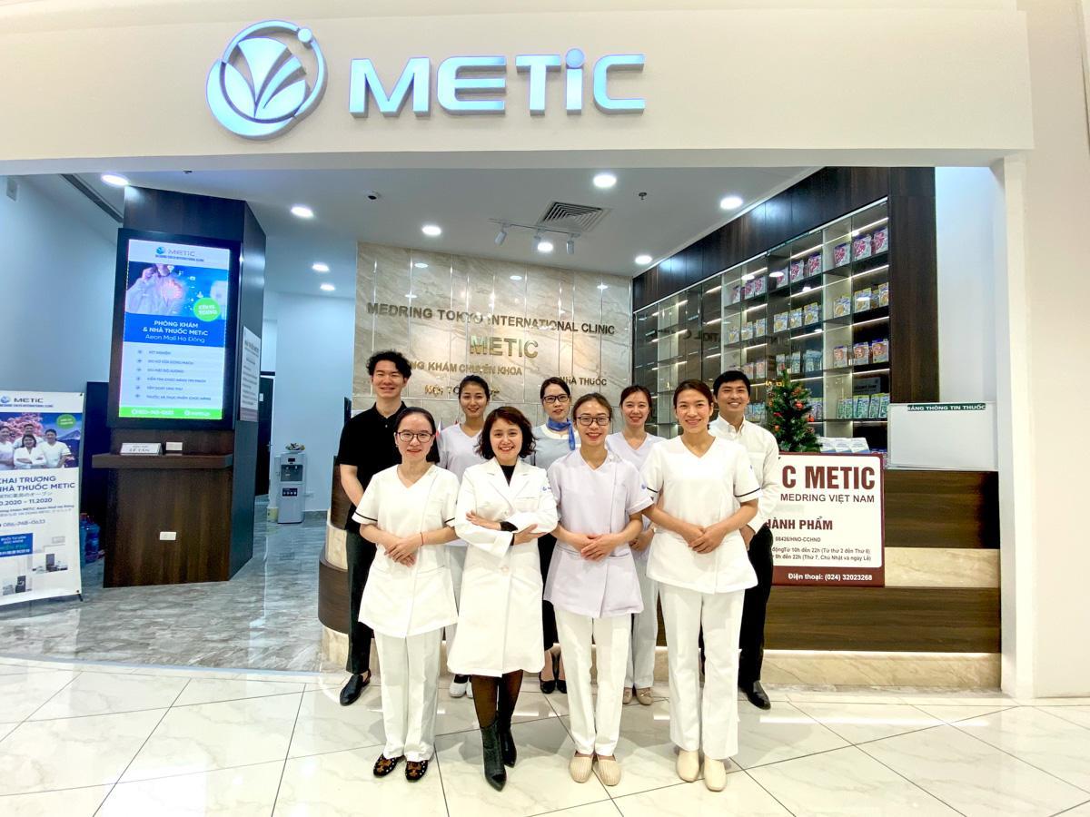 「METiC」の医療スタッフ