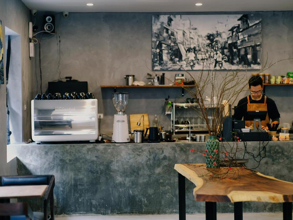 「Wild Coffee」の店内