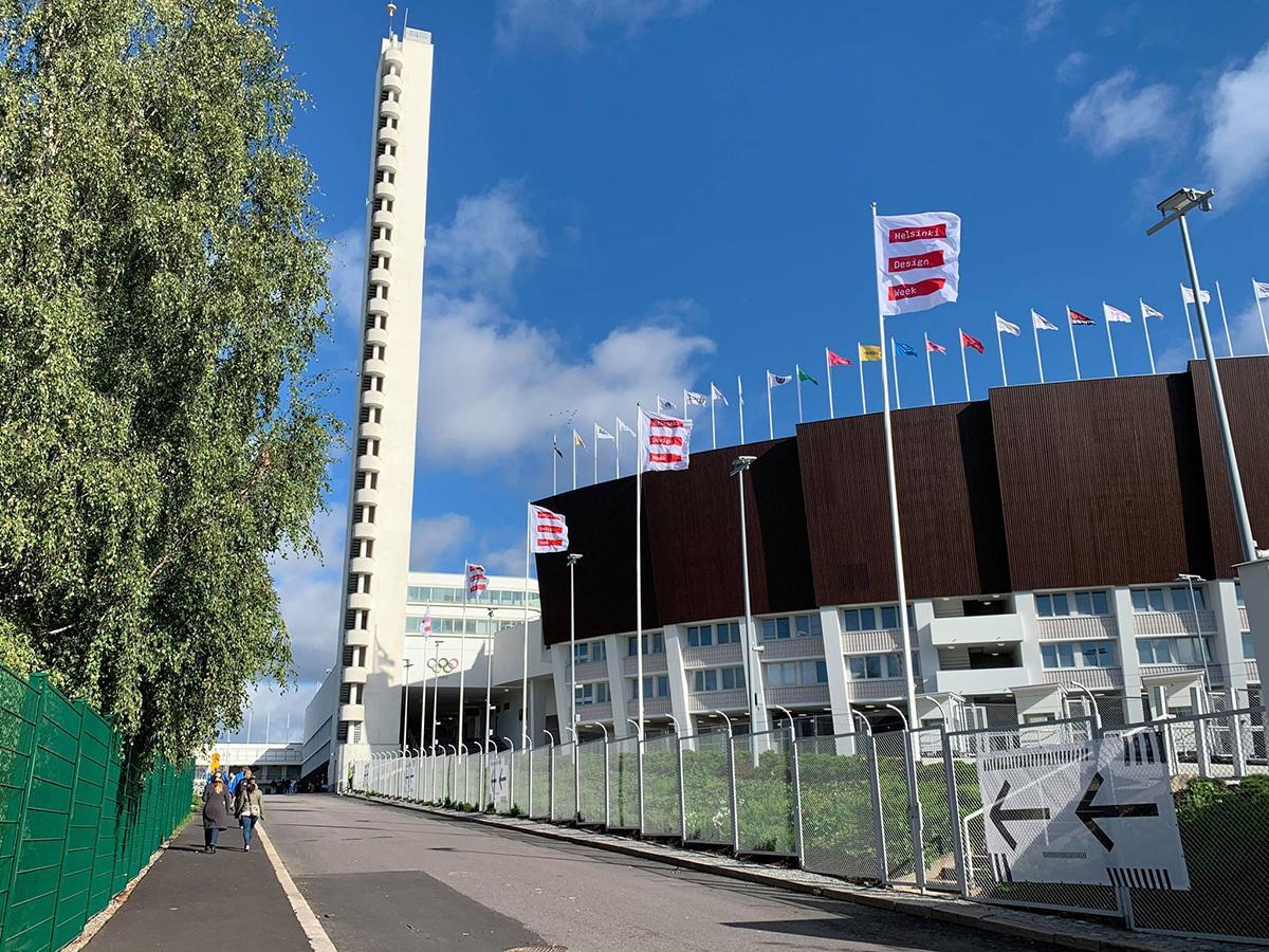 メイン会場のヘルシンキ・オリンピックスタジアム