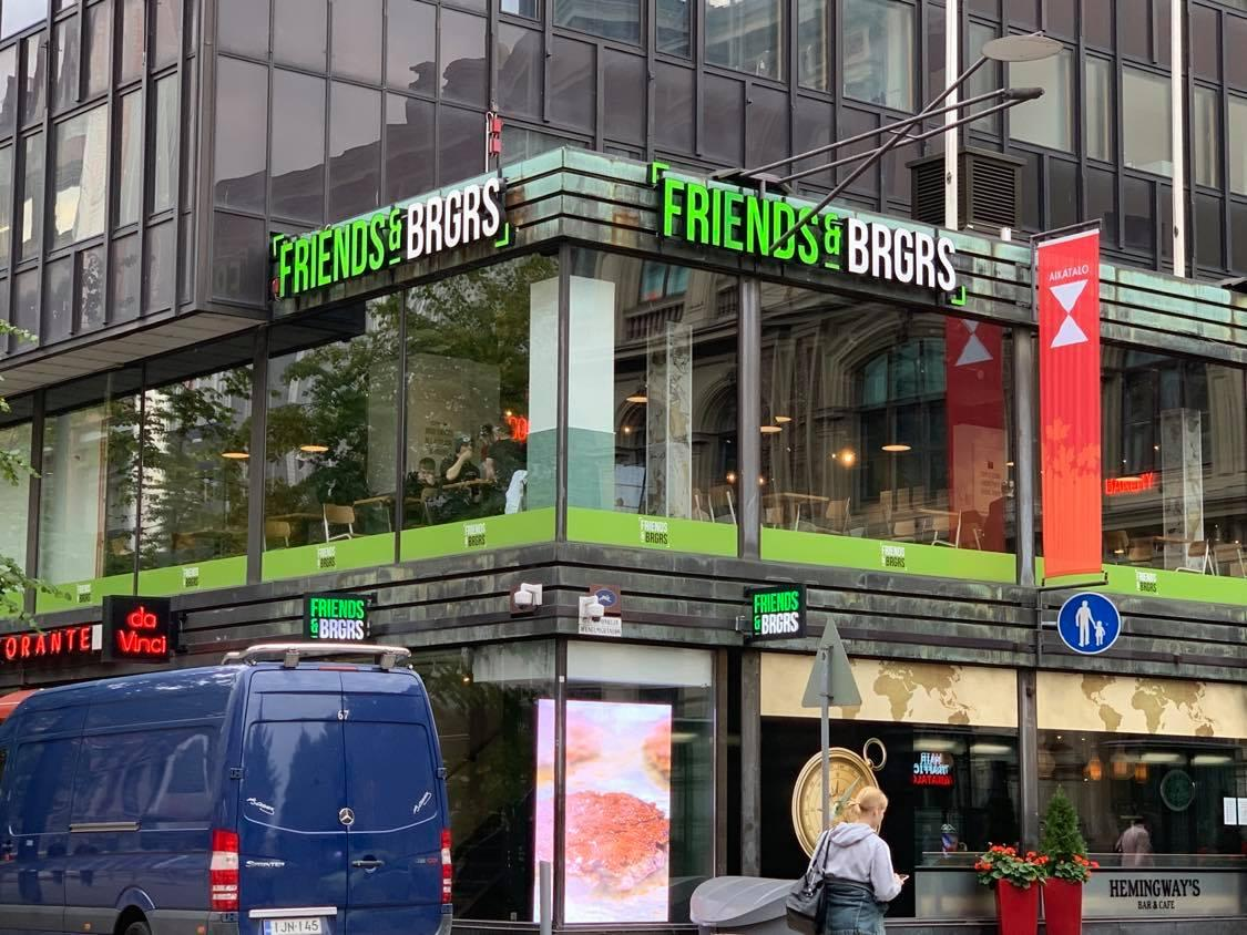 「Friends & Brgrs」Aikatalo店