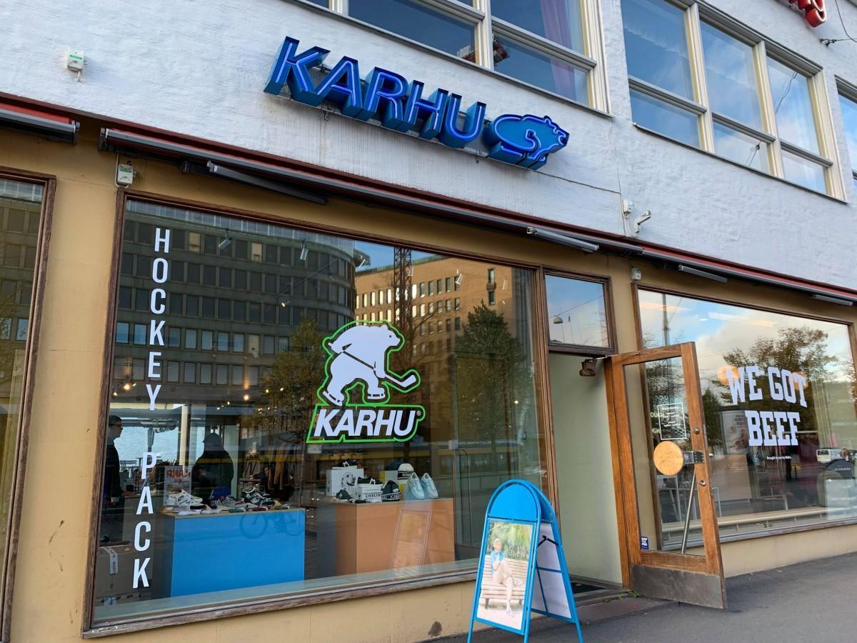LasipalatsiのKarhu店舗