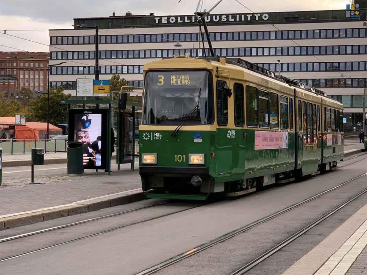 ヘルシンキ市のトラム