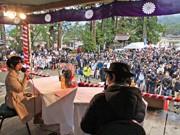 「飛騨生きびな祭」に2500人-「氷菓」声優・佐藤聡美さんも応援に駆け付け