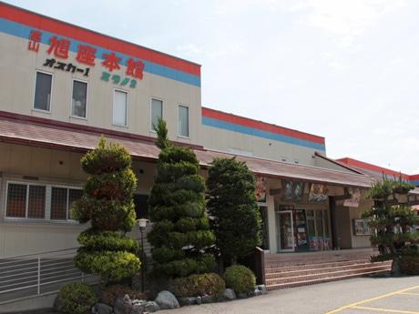 1984年開館当初のたたずまいを残す高山旭座本館