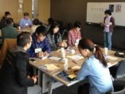飛騨市図書館で「ブクブク交換」-企画発案者・テリー植田さんトークも
