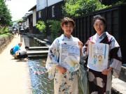 飛騨古川で浴衣イベント「色和衣」 浴衣ファッションショー、100人撮影会も