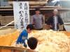 飛騨古川で軽トラバザール-荷台満載ズラリ41台、新そば祭りと同時開催