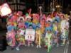高山で仮装盆踊り大会「ちょけらまいか」 平均年齢78歳、「半端ない」老人力チーム初参加も