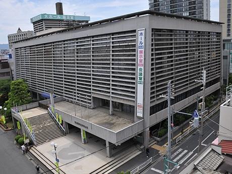 6月30日に閉館する東大阪市立市民会館