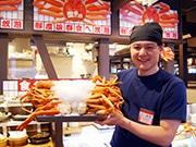 東大阪・高井田にカニ食べ放題「蟹奉行」 日替わりすしや天ぷらも食べ放題で提供