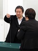 東大阪で喜多俊之さんデザインアドバイス会 技術力との融合でオリジナル製品を