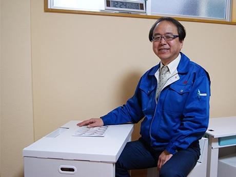 マツダ紙工業の松田和人社長