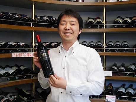 「酒のにしだ」2代目の西田祥一さん