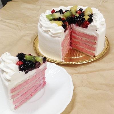 卵・乳製品・小麦不使用のアレルギー対応ケーキ「ベリーケーキ」