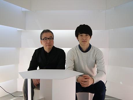近畿大学に「再生段ボールの茶室」 学生設計コンペ最優秀作品を展示