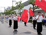 東大阪市民ふれあい祭り、40回の節目に中村美律子さん 晴天下にぎわう